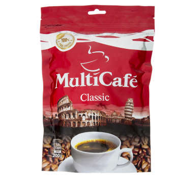 قهوه فوری کلاسیک مولتی کافه مقدار 200 گرم
