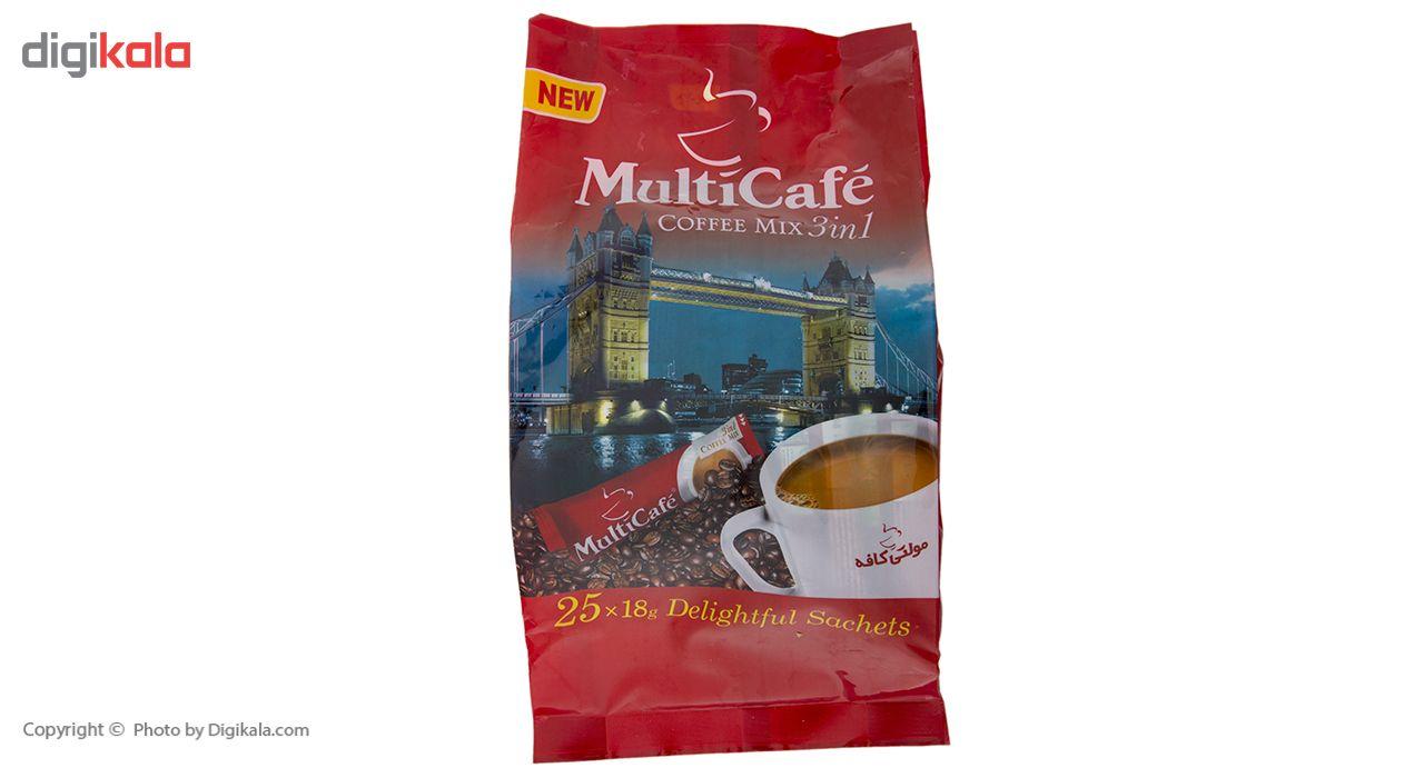 کافی میکس 3 در 1 مولتی کافه - 450 گرم بسته 25 عددی main 1 3