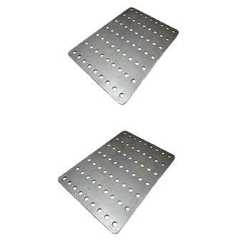 شاسی فلزی ربات مدل تخت بسته 2 عددی