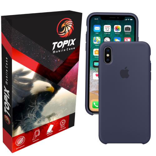 کاور سیلیکونی تاپیکس مناسب برای گوشی موبایل اپل iPhone X