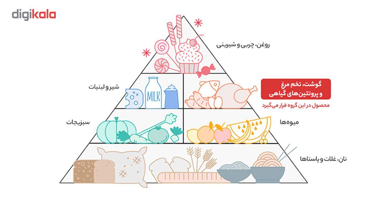 گوشت بیف استراگانف گوساله مهیا پروتئین مقدار 0.5 کیلوگرم main 1 4