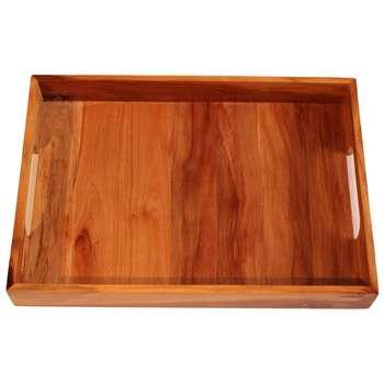 سینی چوبی مستطیل WB مدل Classic