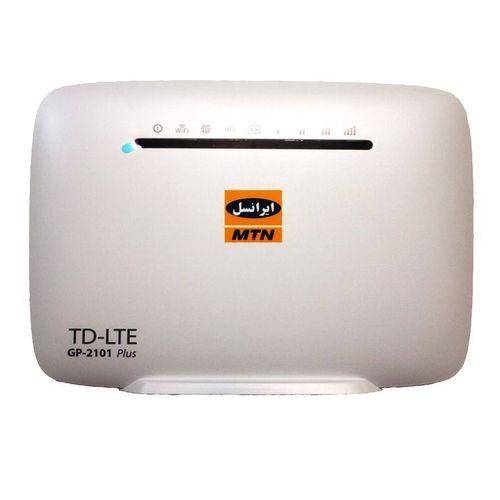 مودم TD-LTE ایرانسل مدل GP-2101 plus به همراه 10GB اینترنت همراه رایگان