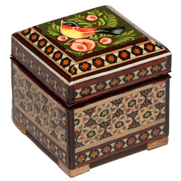 جعبه جواهرات خاتم کاری گالری گوهران مدل 1467