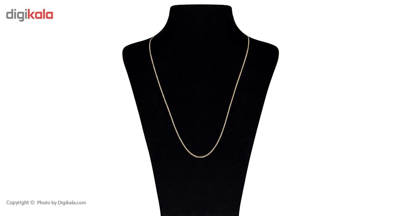 زنجیر طلا 18 عیار ماهک مدل MM0649 - مایا ماهک -  - 2