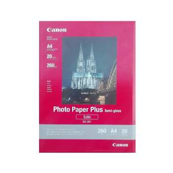 کاغذ عکس کانن مدل PHOTO PAPER PLUS SEMI-GLOSS سایز A4 بسته 20 عددی