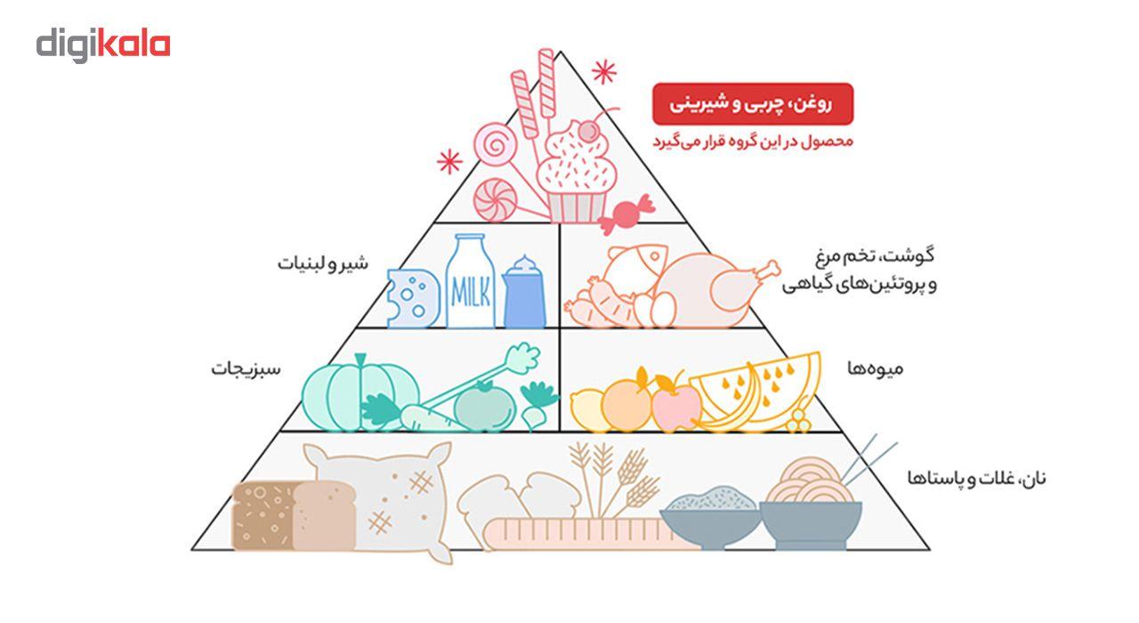 شکلات تلخ با مغز کارامل فرمند مقدار 100 گرم main 1 3