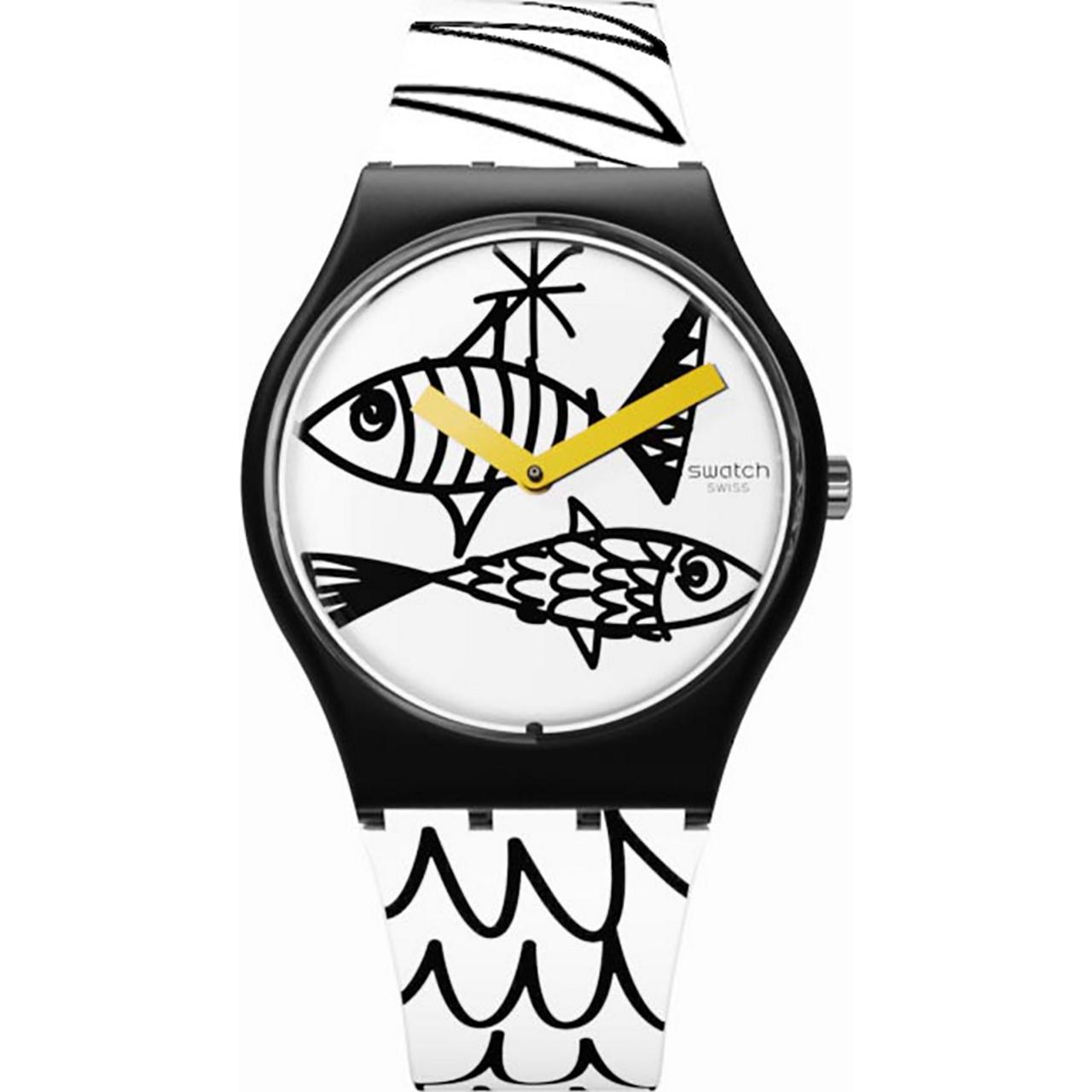 ساعت مچی عقربه ای زنانه سواچ مدل GB303
