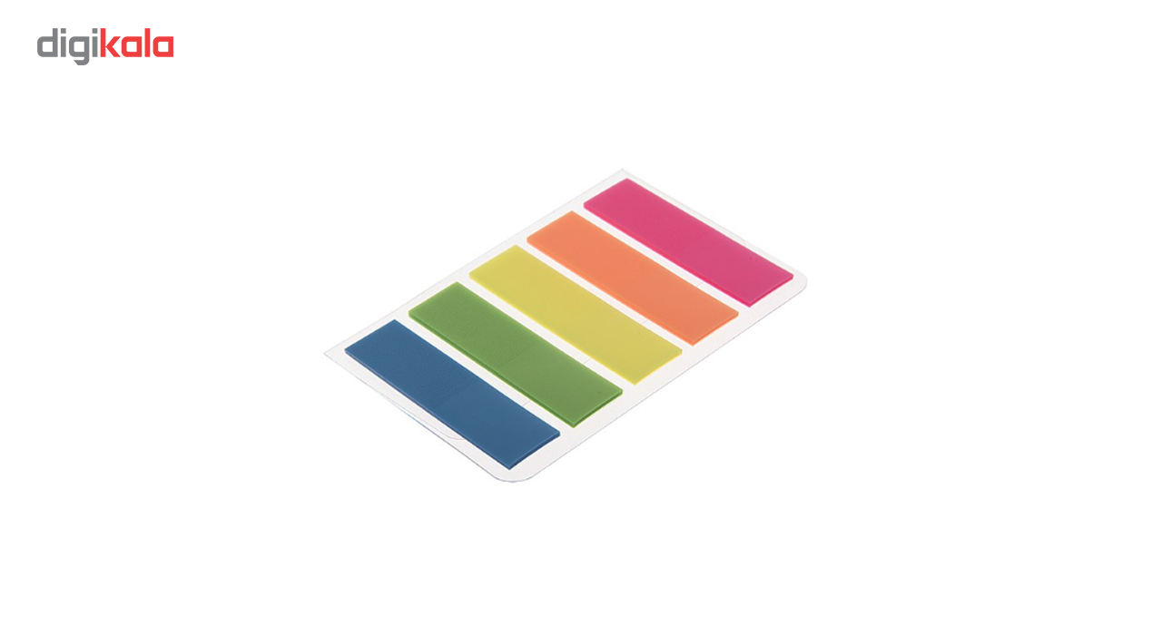 کاغذ یادداشت چسب دار مدل Rainbow بسته 100 عددی main 1 1
