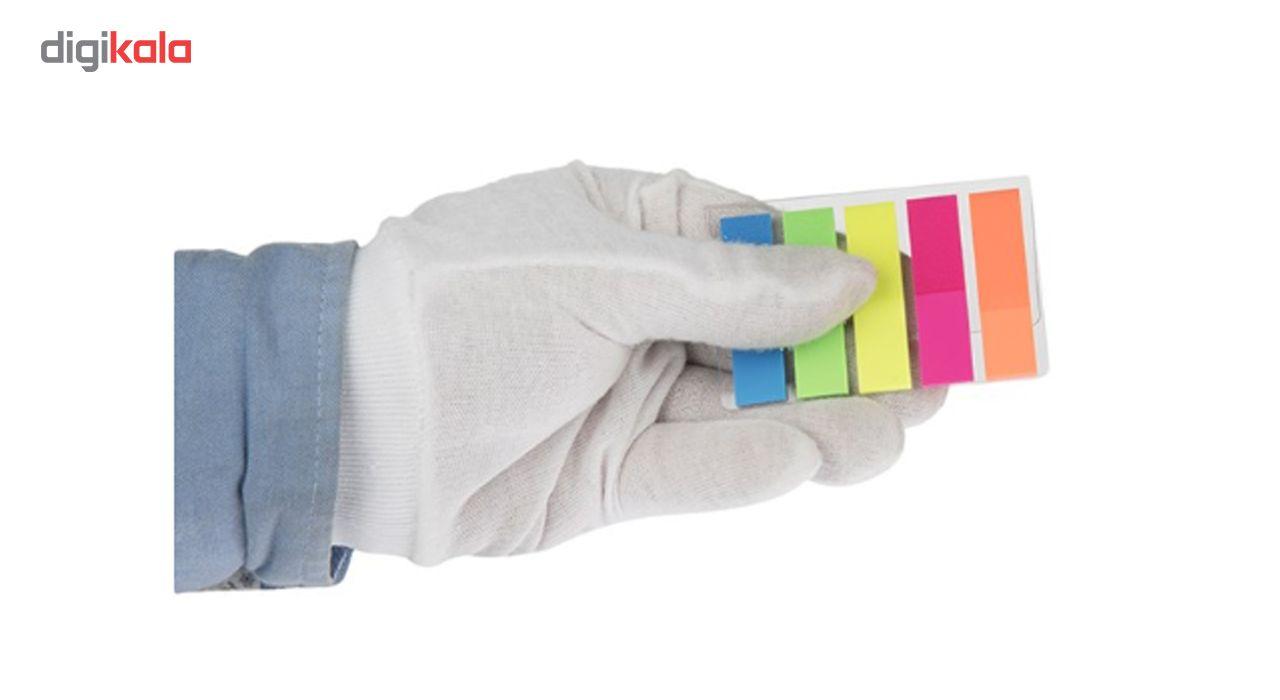 کاغذ یادداشت چسب دار مدل Rainbow بسته 100 عددی main 1 2
