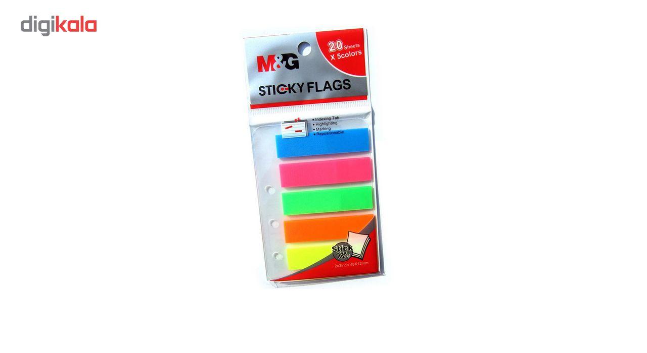 کاغذ یادداشت چسب دار مدل Rainbow بسته 100 عددی main 1 3
