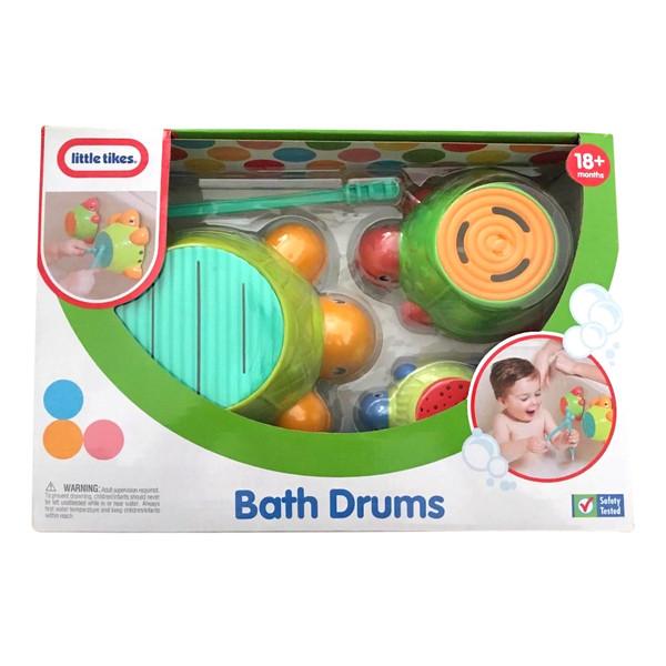 اسباب بازی حمام لیتل تایکس طرح طبل مدل BATH DRUMS