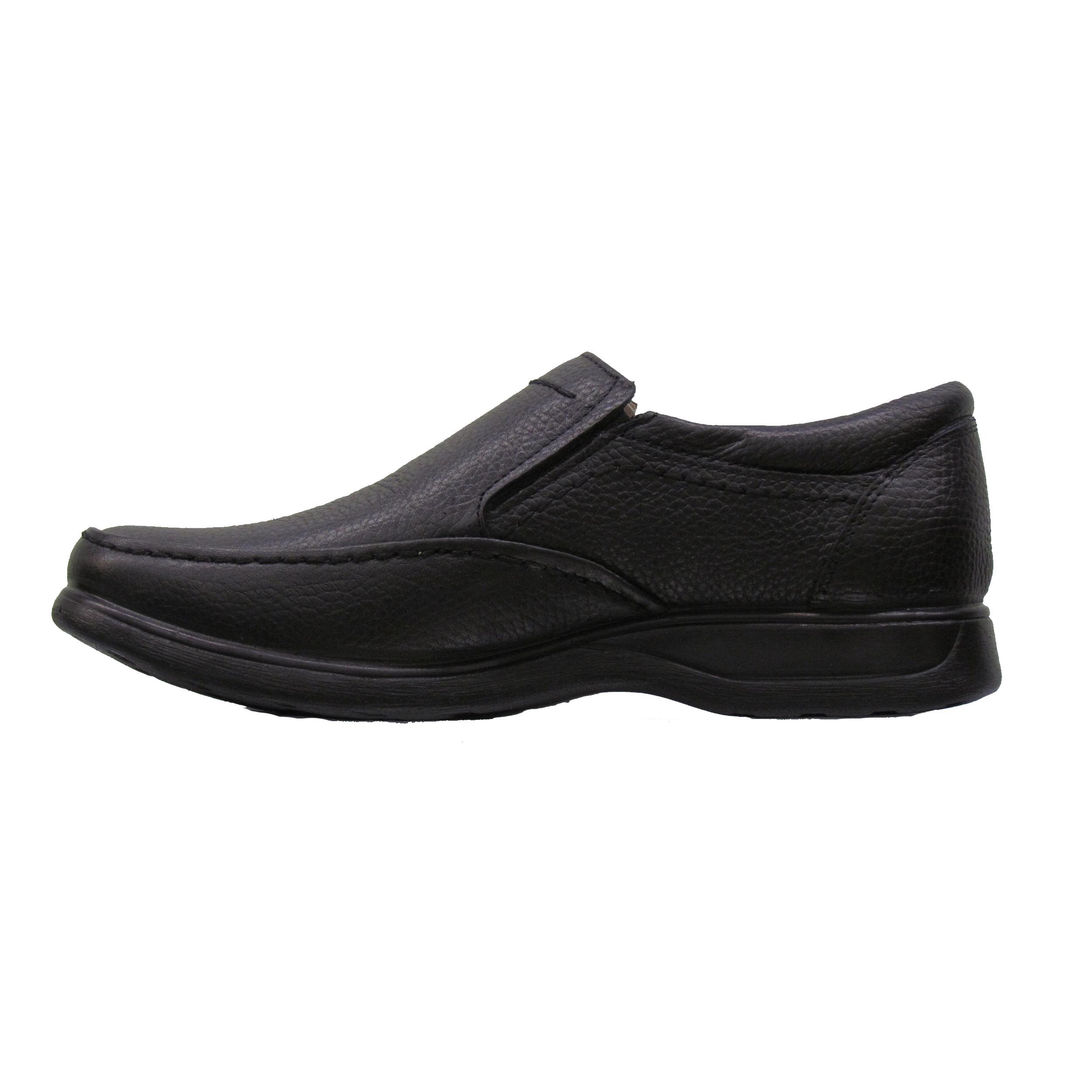 کفش مردانه چرم طبیعی عبدی مدل 1172 MIRACLE