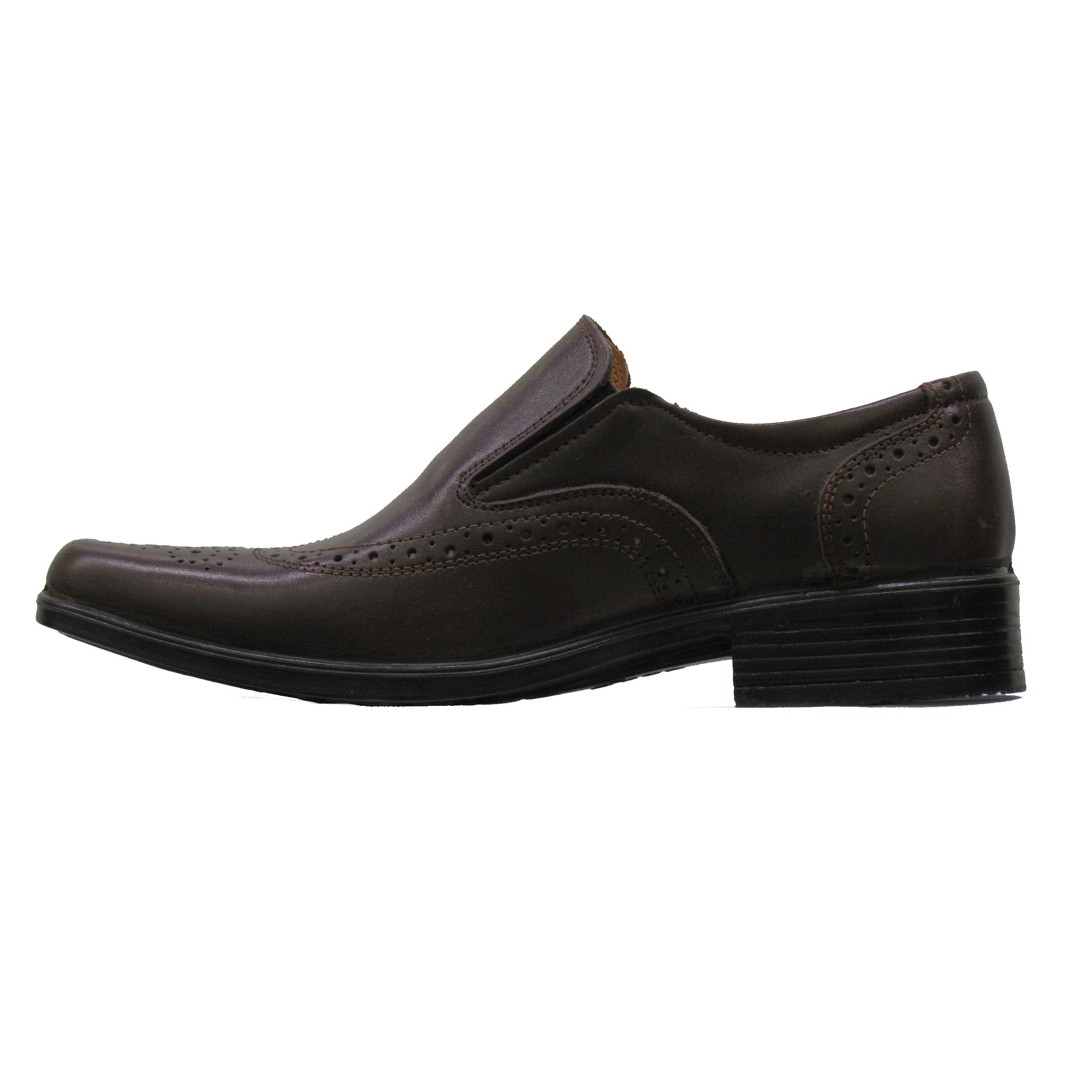 کفش مردانه چرم طبیعی عبدی مدل 1381 MIRACLE