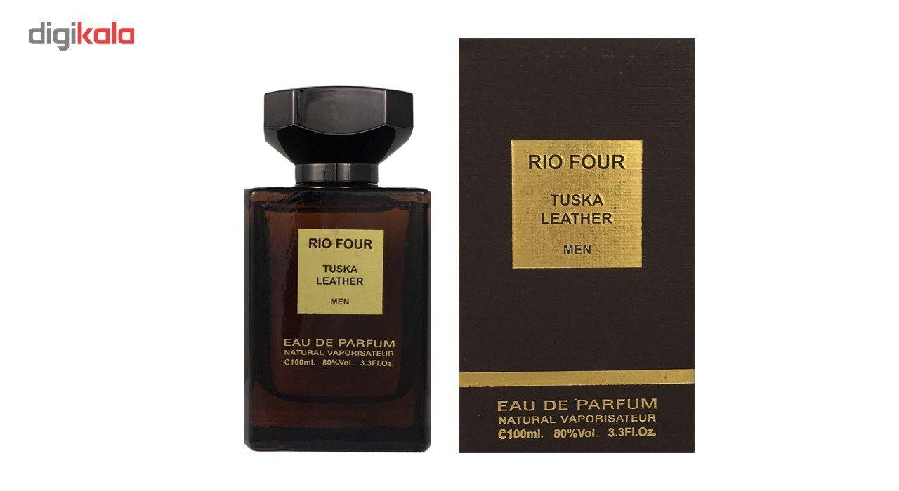 ادو پرفیوم مردانه ریو کالکشن مدل Rio For Tuska Leather حجم 100ml -  - 2