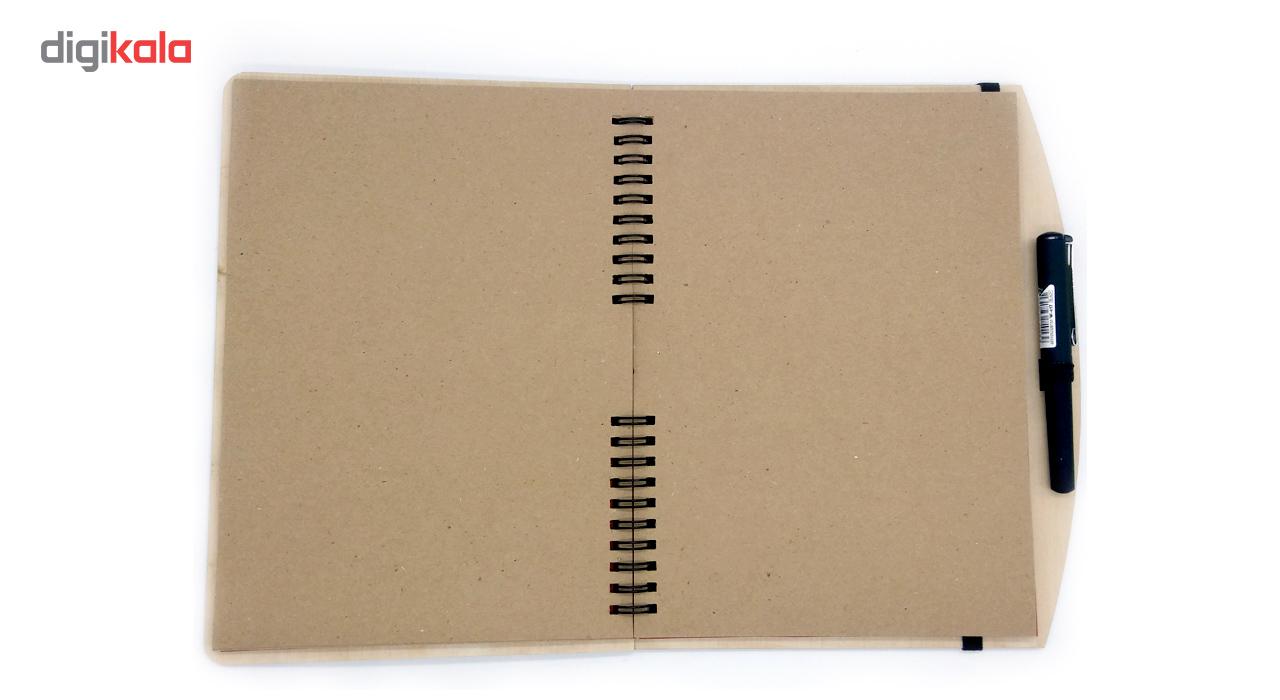 خرید                                     دفتر 60 برگ چوبی بنی دکو مدل 08