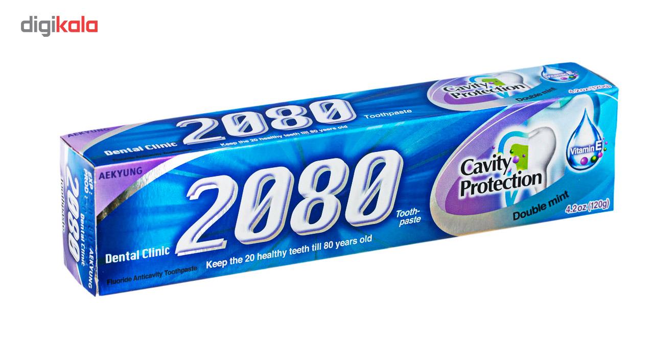 خرید                      خمیر دندان 2080 مدل ضد پوسیدگی حجم 120 میلی لیتر