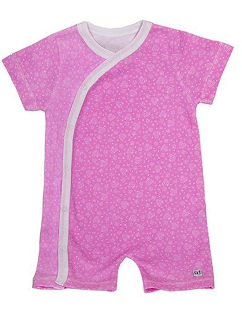لباس سرهمی هشداردهنده تب بیبی گلو مدل Pink - بیبی گلو -  - 1