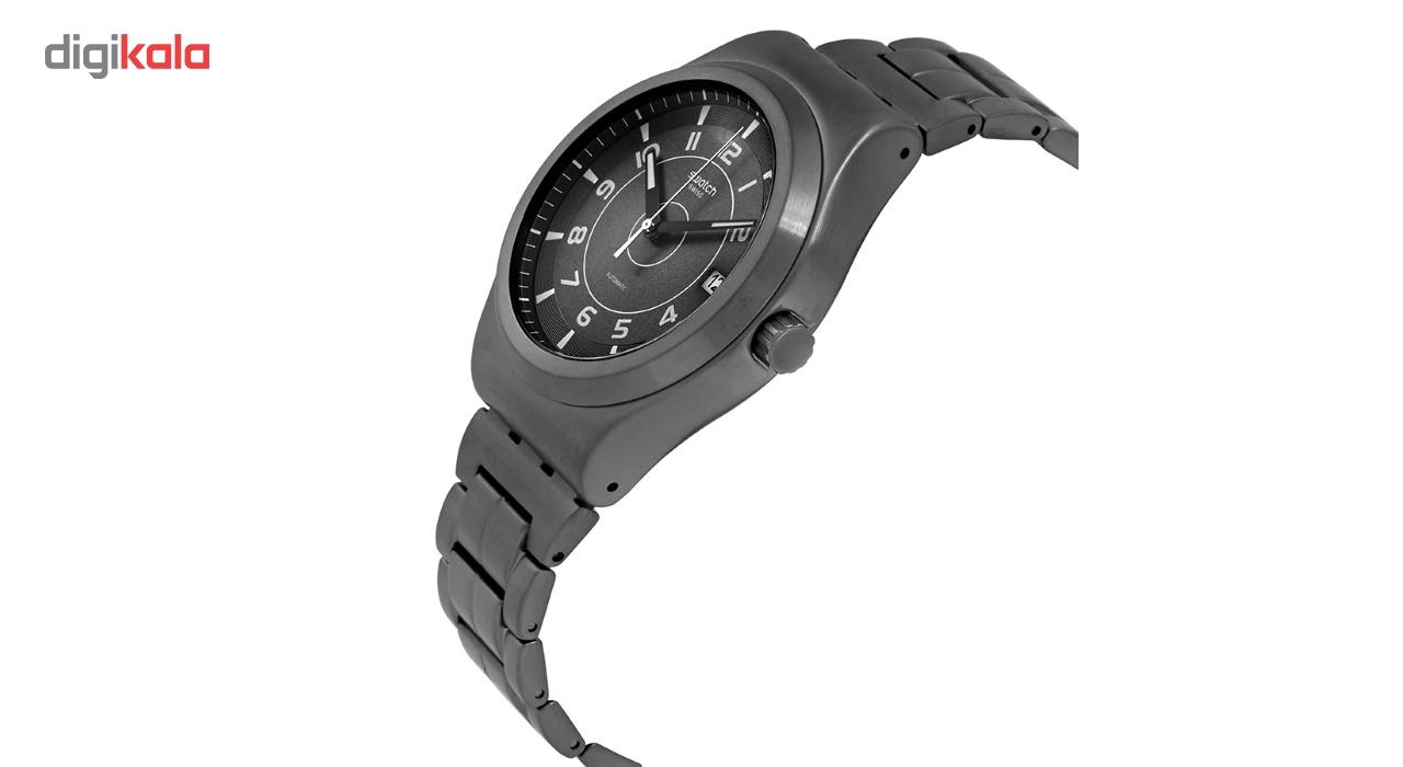 ساعت مچی عقربه ای سواچ اتوماتیک مدل YIM400G