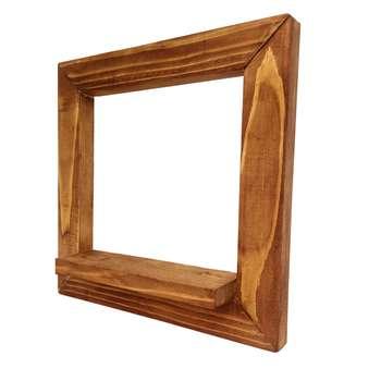 طبقه دیواری چوبی مدل 2525