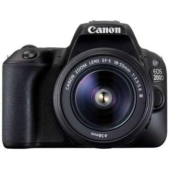 دوربین دیجیتال کانن مدل EOS 200D به همراه لنز EF-S 18-55 mm III f/3.5-5.6 DC