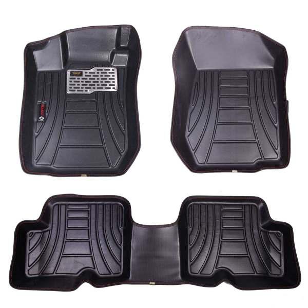 کفپوش سه بعدی خودرو ماهوت مدل اکو مناسب برای تندر 90