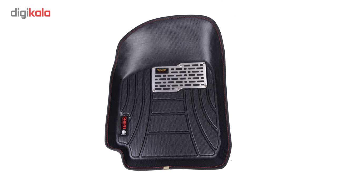 کفپوش سه بعدی خودرو ماهوت مدل اکو مناسب برای پراید تیبا ساینا main 1 2