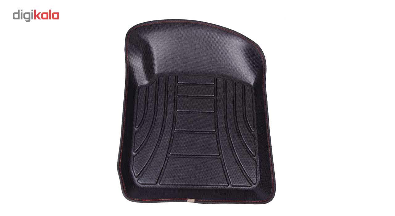 کفپوش سه بعدی خودرو ماهوت مدل اکو مناسب برای پراید تیبا ساینا main 1 3
