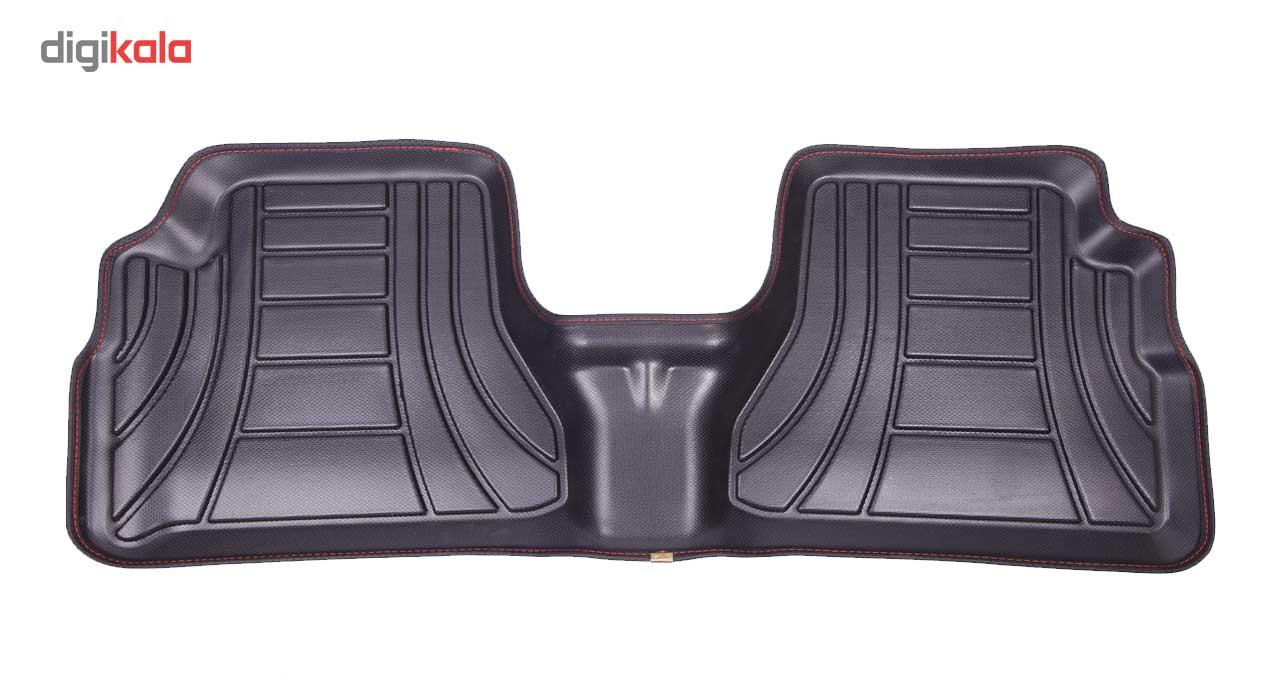 کفپوش سه بعدی خودرو ماهوت مدل اکو مناسب برای پراید تیبا ساینا
