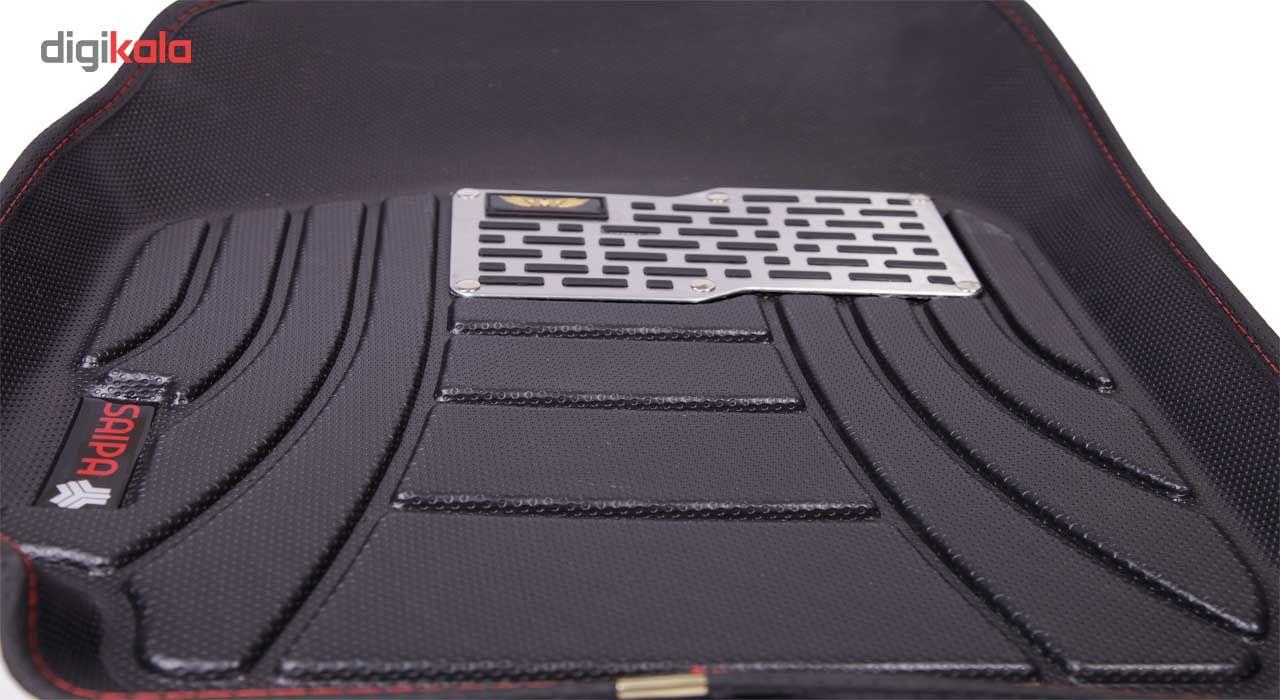 کفپوش سه بعدی خودرو ماهوت مدل اکو مناسب برای پراید تیبا ساینا main 1 5