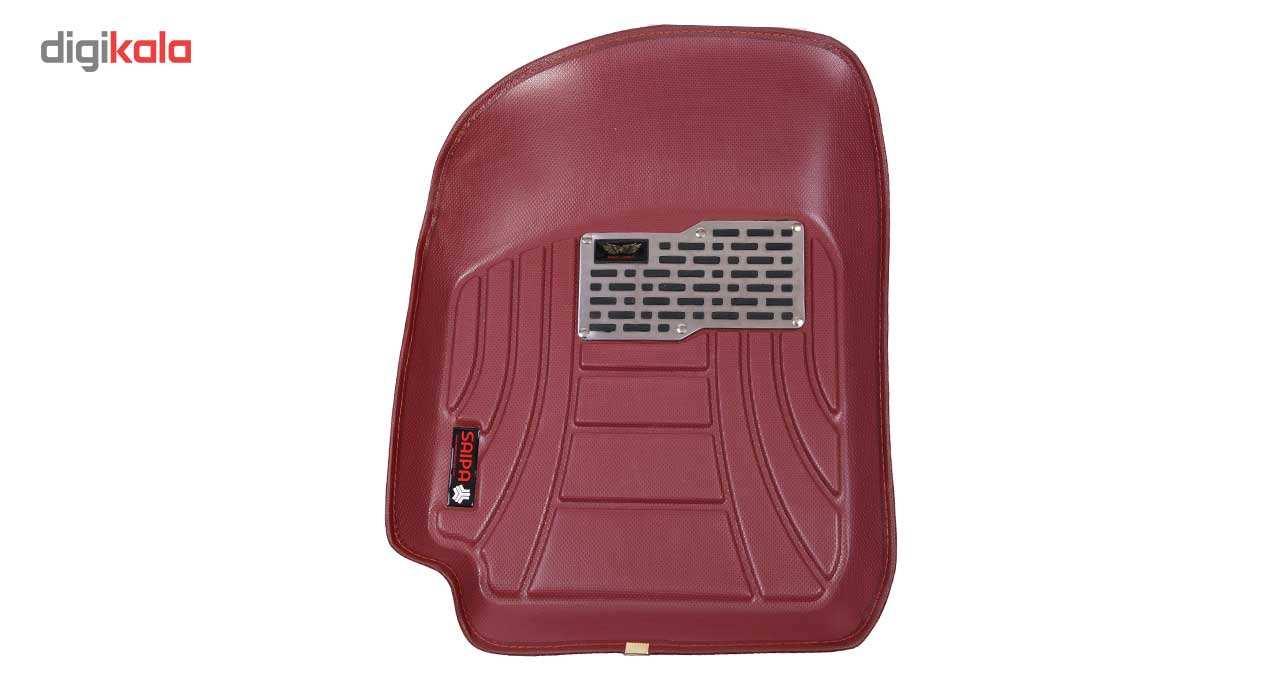 کفپوش سه بعدی خودرو ماهوت مدل اکو مناسب برای پراید تیبا ساینا main 1 6