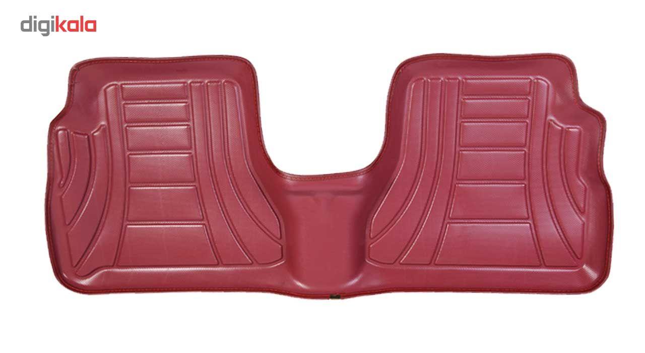 کفپوش سه بعدی خودرو ماهوت مدل اکو مناسب برای پراید تیبا ساینا main 1 8
