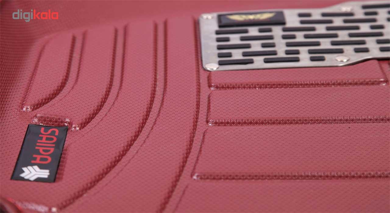 کفپوش سه بعدی خودرو ماهوت مدل اکو مناسب برای پراید تیبا ساینا main 1 9