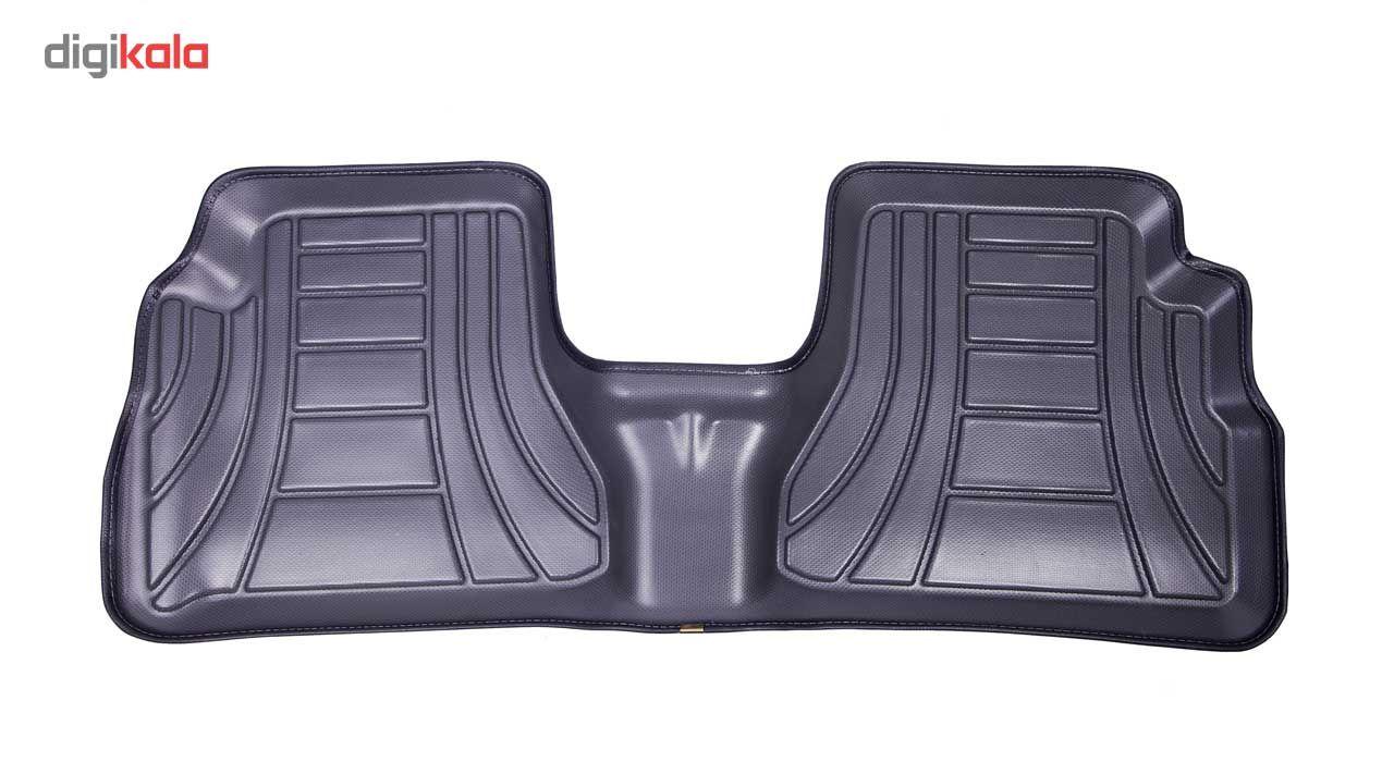 کفپوش سه بعدی خودرو ماهوت مدل اکو مناسب برای پراید تیبا ساینا main 1 12