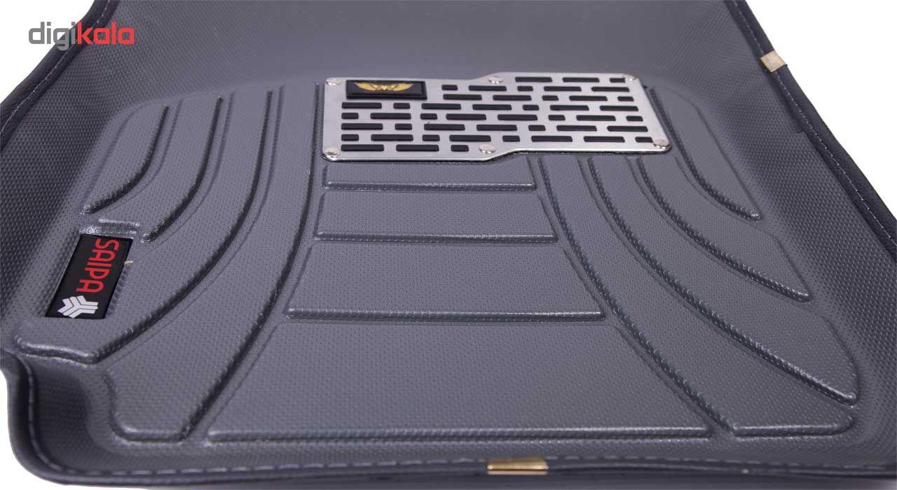کفپوش سه بعدی خودرو ماهوت مدل اکو مناسب برای پراید تیبا ساینا main 1 13