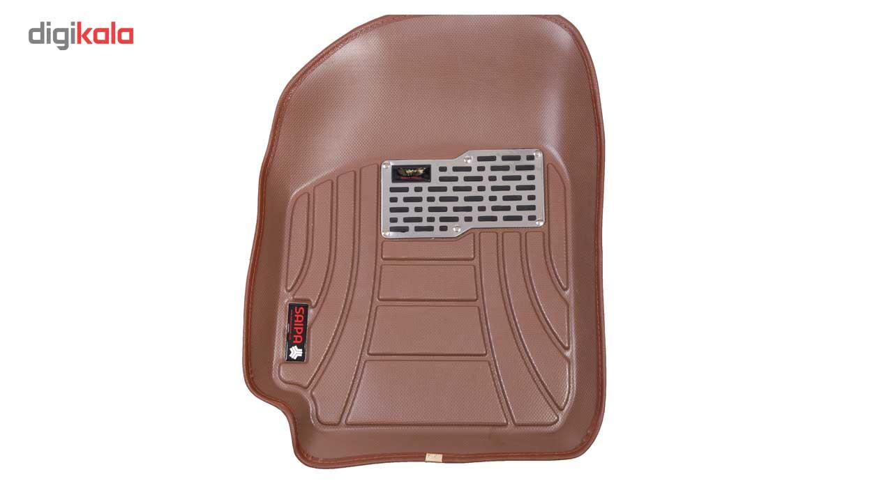 کفپوش سه بعدی خودرو ماهوت مدل اکو مناسب برای پراید تیبا ساینا main 1 14
