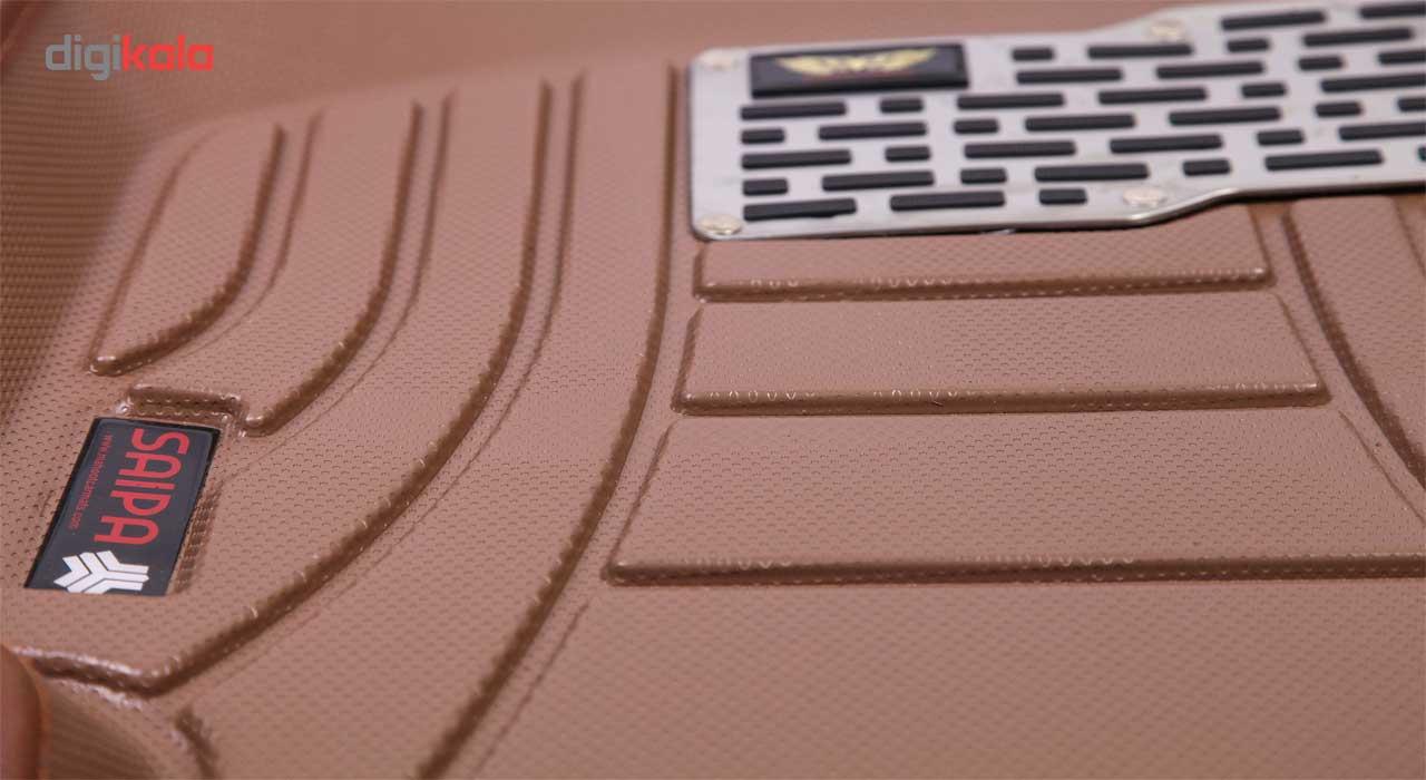 کفپوش سه بعدی خودرو ماهوت مدل اکو مناسب برای پراید تیبا ساینا main 1 16