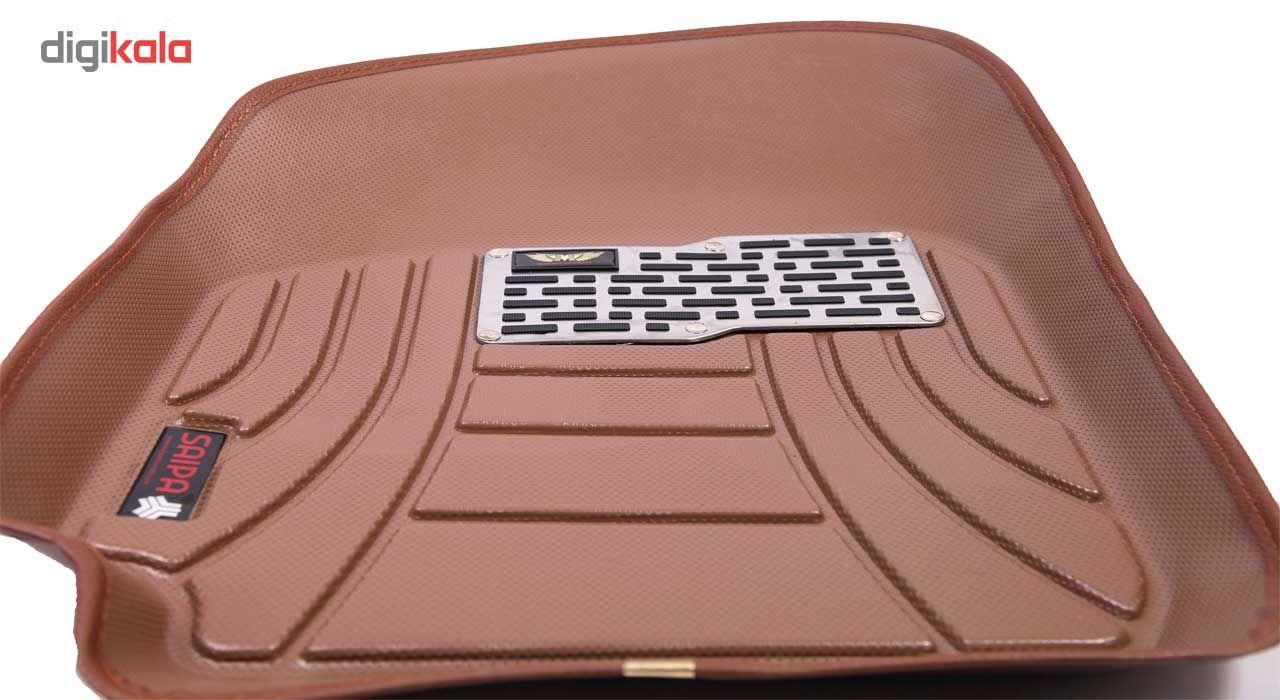 کفپوش سه بعدی خودرو ماهوت مدل اکو مناسب برای پراید تیبا ساینا main 1 17