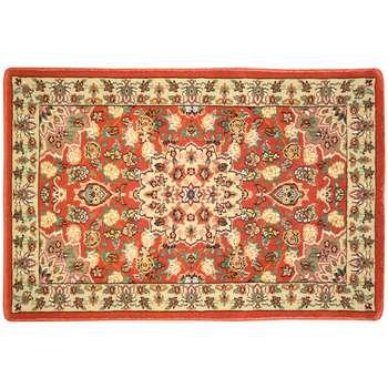 پادری ماشینی رادین اصفهان طرح گل رز رنگ زمینه گوجه ای
