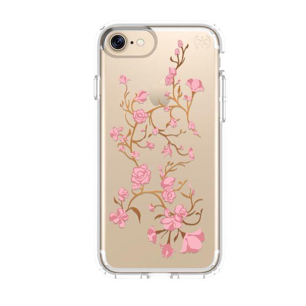 کاور اسپک مدل Presidio Clear Glitter Print مناسب برای گوشی موبایل آیفون 7 و 8