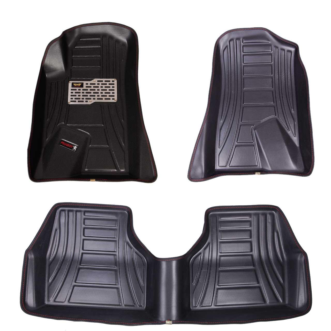 کفپوش سه بعدی خودرو ماهوت مدل اکو مناسب برای پژو405-پارس- سمند- دنا