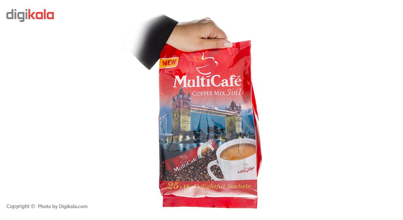 کافی میکس 3 در 1 مولتی کافه - 450 گرم بسته 25 عددی main 1 6
