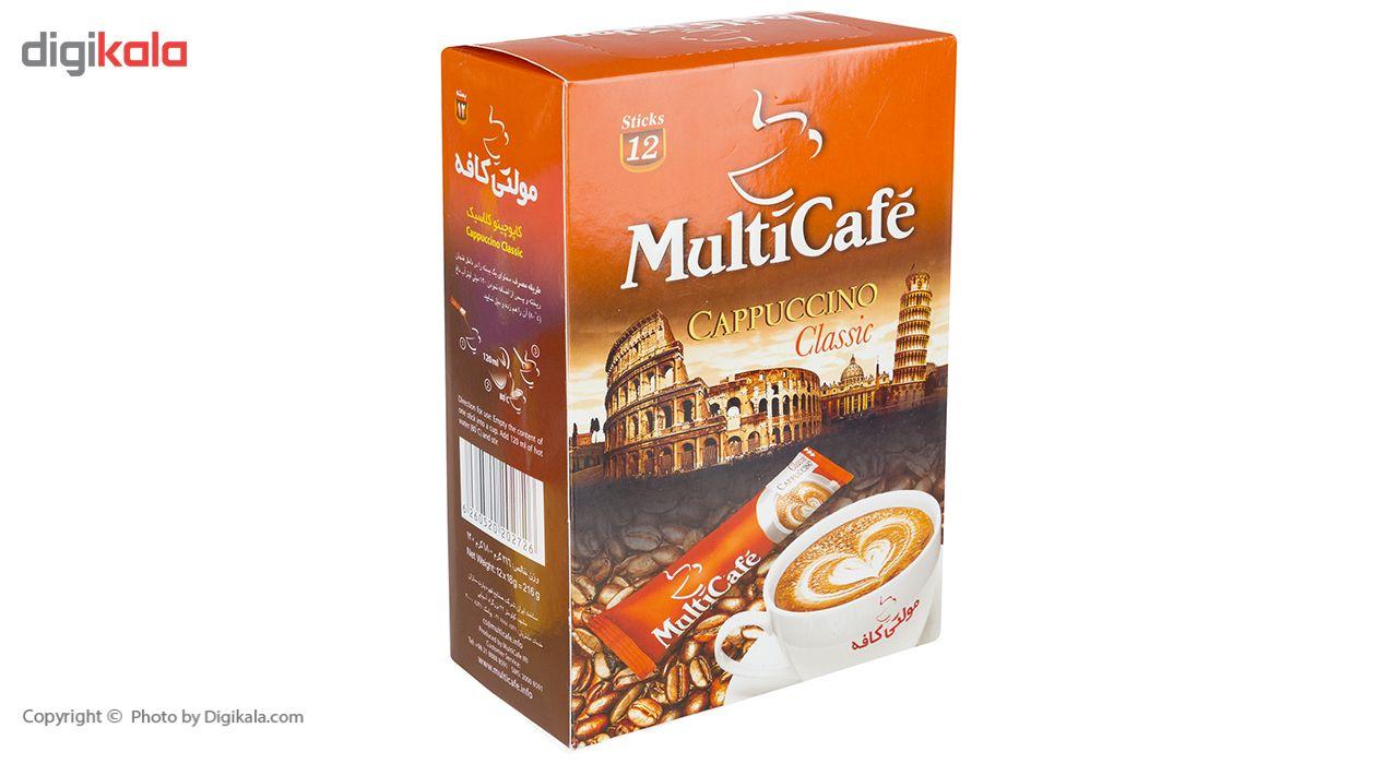 کاپوچینو مولتی کافه بسته 12 عددی main 1 4