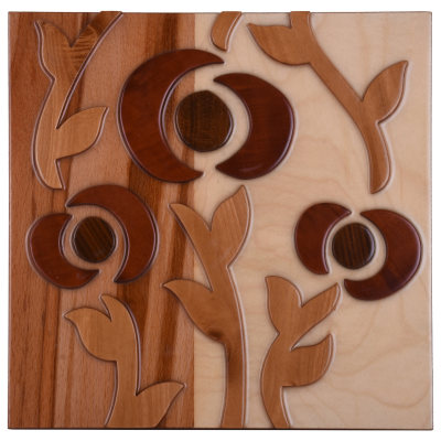 Photo of تابلو معرق طرح شاخه گل روماک مدل 00-16