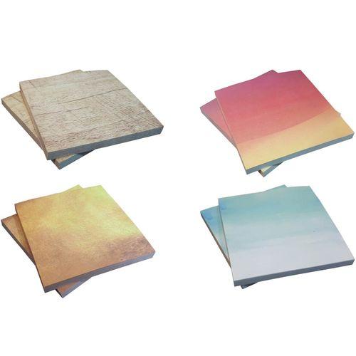کاغذ یادداشت چسب دار مدل چند رنگ کد BSB965 بسته 400 عددی