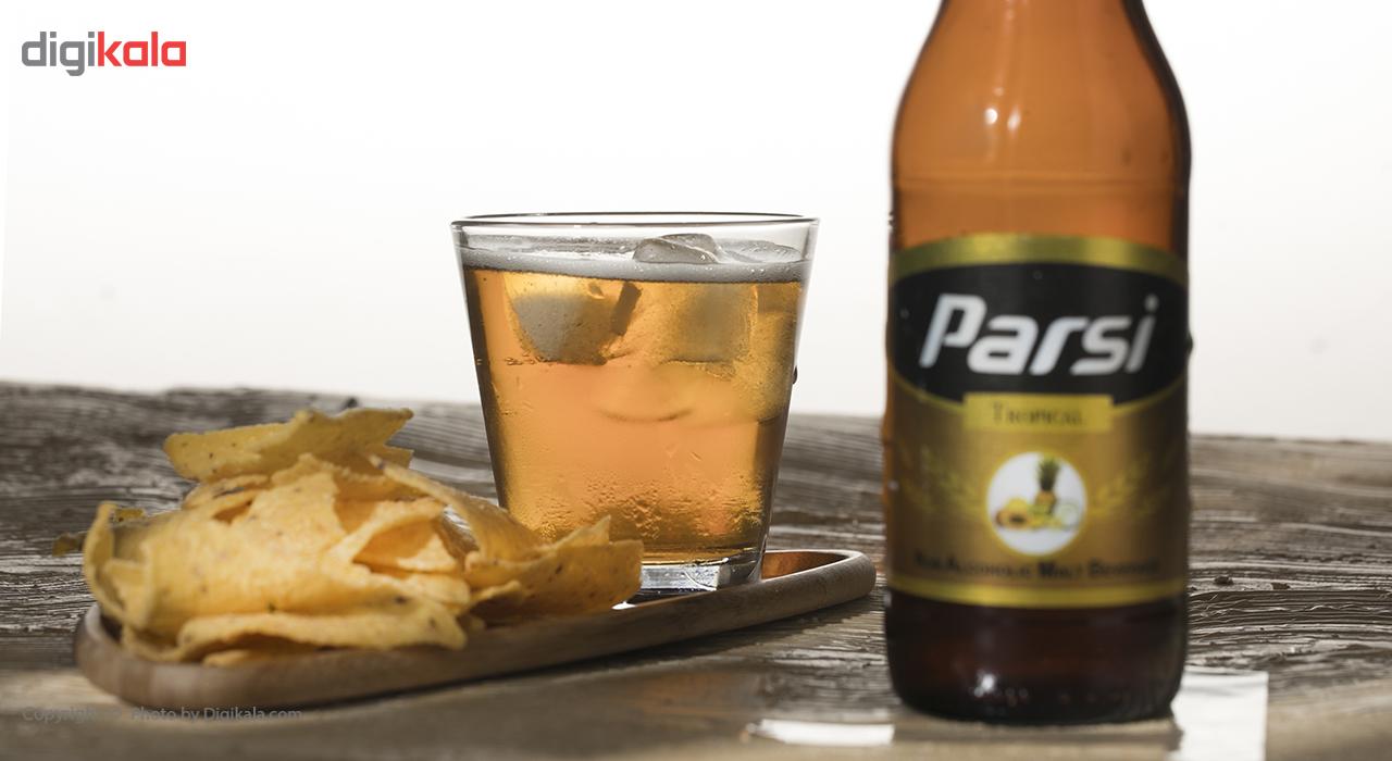 نوشیدنی مالت بدون الکل با طعم استوایی پارسی مقدار 0.33 لیتر main 1 1