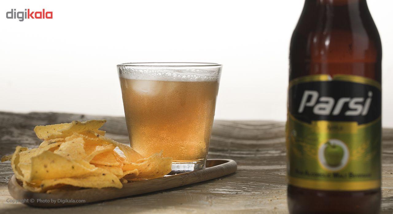 نوشیدنی مالت بدون الکل با طعم لیمویی پارسی مقدار 0.33 لیتر main 1 1