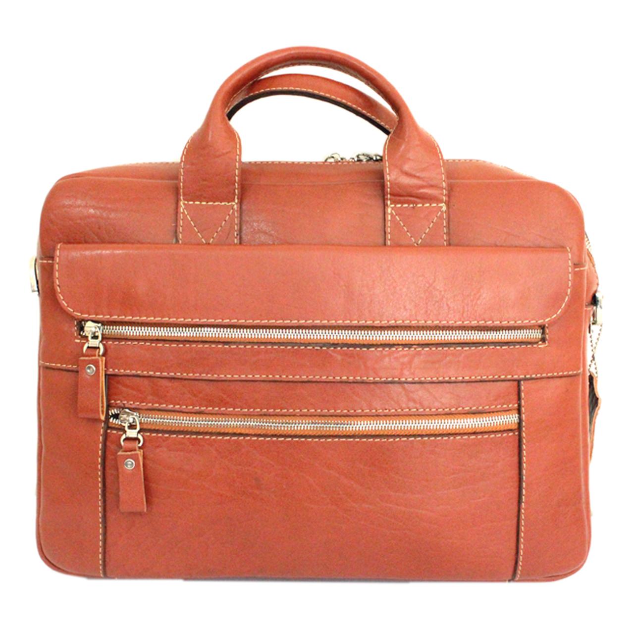 کیف اداری چرم مردانه چرم آرا مدل e070