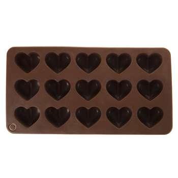 قالب شکلات و پاستیل طرح قلب