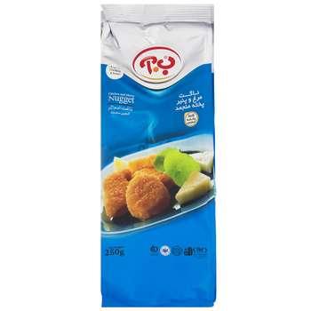 ناگت مرغ و پنیر ب.آ - 250 گرم